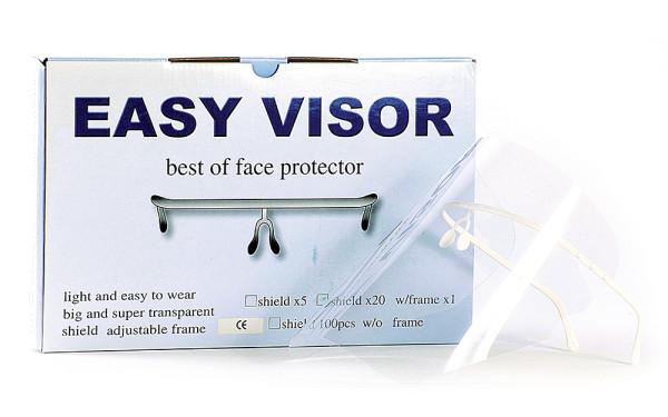 Easy Visor Face Protector (2 Frames + 100 Shields)