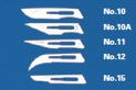 Granton Sterile Surgical Scalpel Blades. (Box of 100).