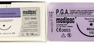 P.G.A. Suture (Brand Equivalent: Dexon 11), 24pk